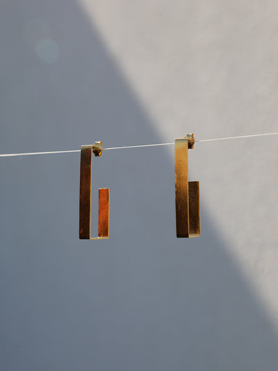 Rothko Rectangular Earrings - Silhou