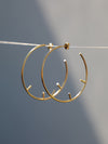 Bryce Hoop Earrings - Silhou