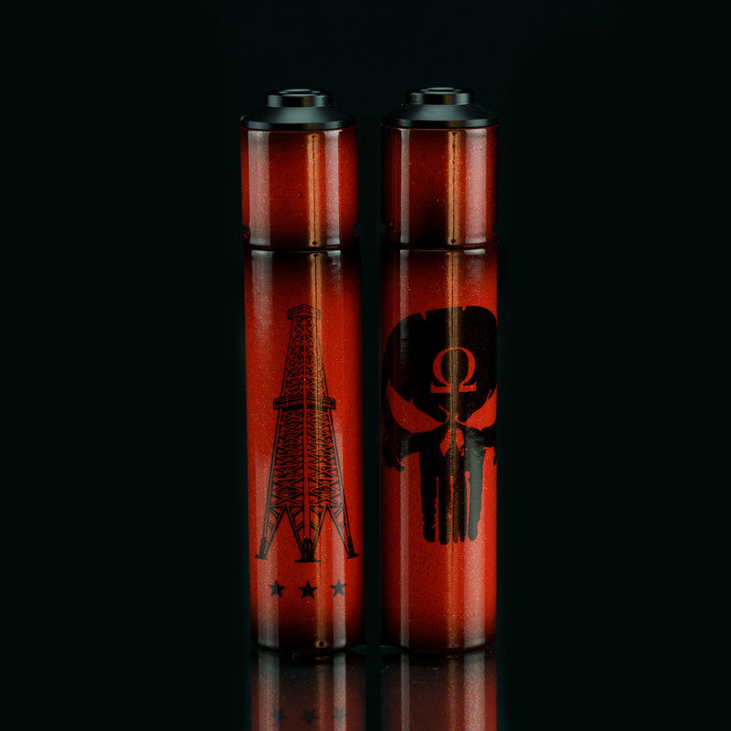 Limited Edition Air Brush Red V3 Rig Mod V3 Roughneck Punisher Set