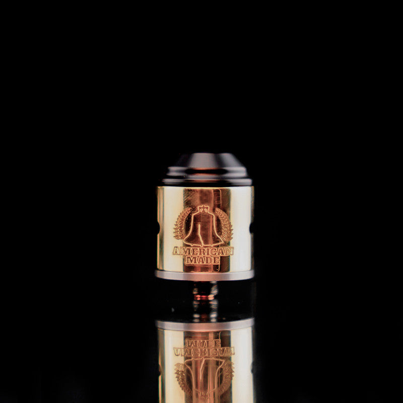 24mm 2 Post VapeAMP Terk RDA - Brass