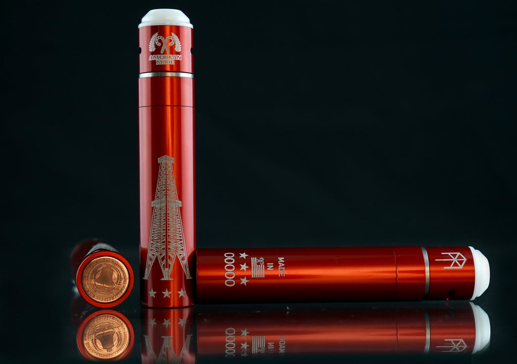 Red Limited Edition Holiday V3 - & Terk RDA - Vaping American Made Products