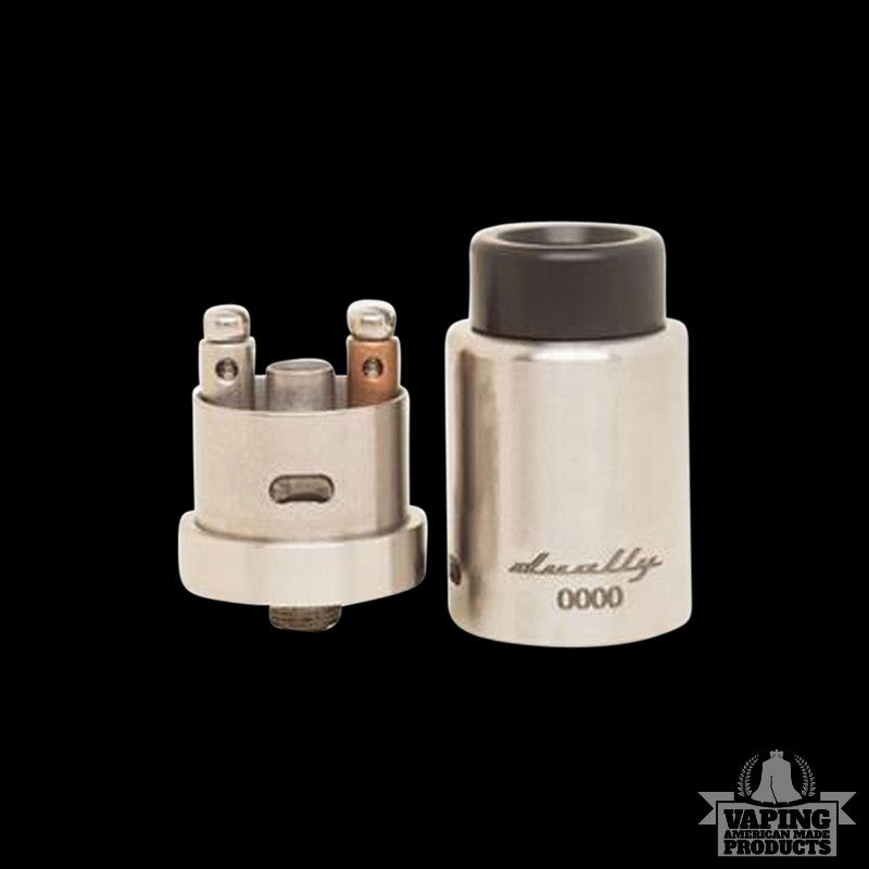 Vape AMP - Dually RDA - Stainless Steel - Vaping American Made Products