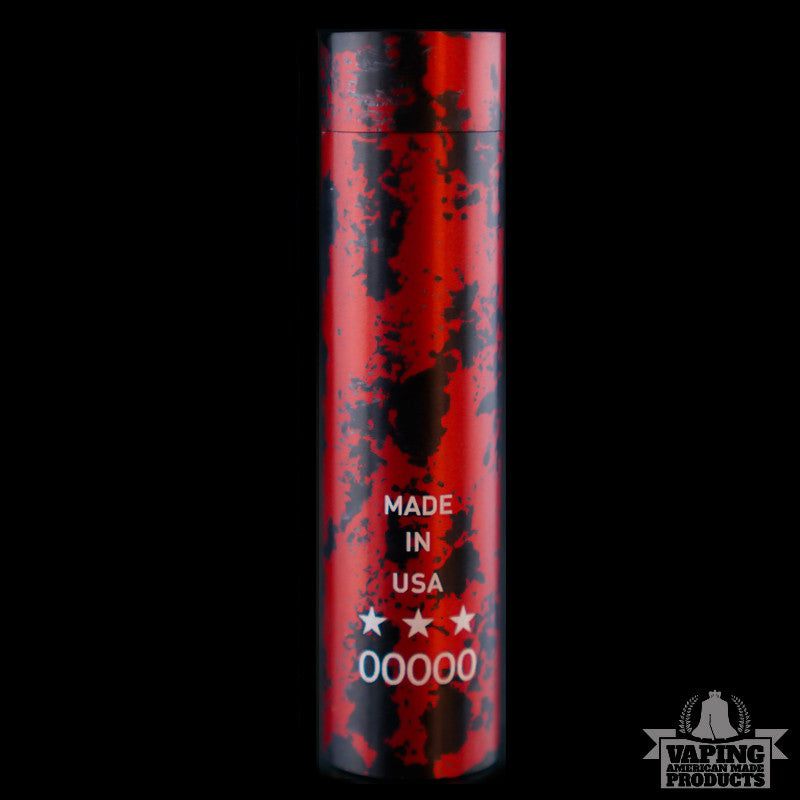 V3 - Black And Red - Vaping American Made Products
