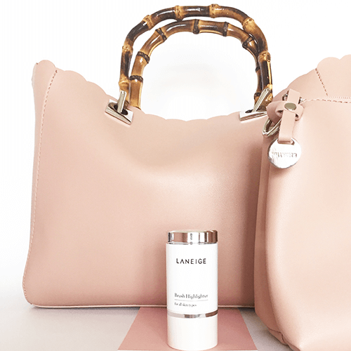 Hallhuber Handtasche & Laneige Highlighter