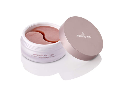 POMEGRANATE & RUBY HYDROGEL EYE PATCH <br>Anti-Aging Hydrogel-Augenmaske mit Isoflavon & 3 Vitaminen (30 Anwendungen)