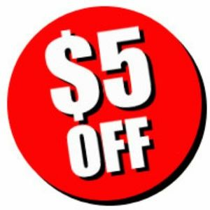 All New Customers Get $5 OFF Their First Order