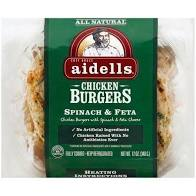 AIDELLS CHICKEN BURGER