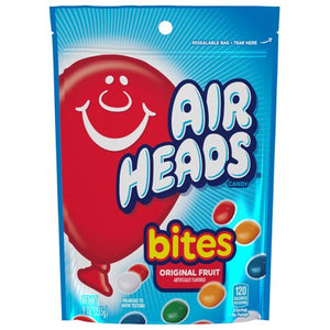 Airheads Bites Fruit Flavored Chewy Candy, 9 Oz
