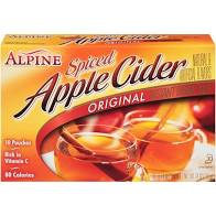 Alpine Original Spiced Apple Cider Instant Drink Mix, 10 Ct/7.4 Oz