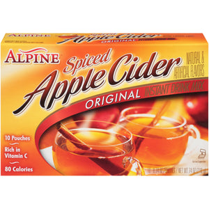 Alpine  Original Spiced Apple Cider Instant Drink Mix