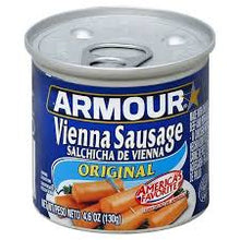 Armour Vienna Sausage Pork & Beef 5 OZ