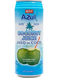 Azul Coconut Juice, 16.5 oz. Cans
