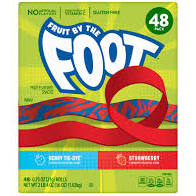 Betty Crocker Fruit By The Foot 42-0.75 1 LB 15.5 OZ