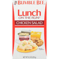 Bumble Bee Chicken Salad with Crackers, 2.5 oz 5 pk