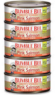 Bumble Bee Skinless and Boneless Wild Pink Salmon, 5 pk./5 oz.