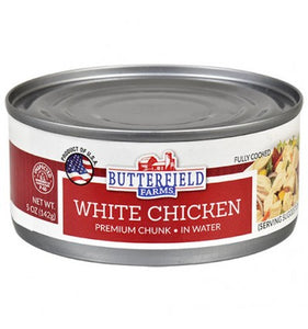 Butterfield Farms Premium Chunk White Chicken, 5-oz.Cans