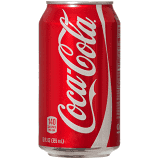 COCA COLA ,12 oz. can