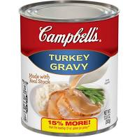 Campbell's Turkey Gravy, 13.8-oz Cans
