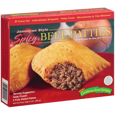Caribbean Food Delight Spicy Beef Patties 2 CT