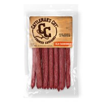 Cattleman's Cut Spicy Double Smoked Stick, Smoked Pork Sausages, 12 OZ