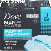 DOVE MEN + CARE CLEAN COMFORT BODY & FACE BAR 3 -4 OZ