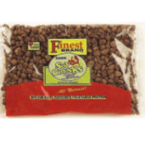 FINEST DARK SOYA CHUNKS 8 OZ