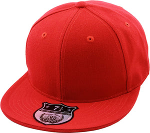 FITTED FLAT BRIM