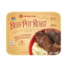 Fully Cooked Beef Pot Roast 2.5 LB