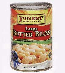 Finest Large Butter Beans 15 OZ
