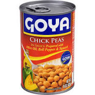 Goya Chick Peas In Sauce 15 OZ