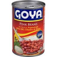 Goya Pink Beans In Sauce 15 OZ