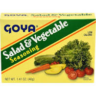 Goya Salad & Vegetable Seasoning 1.41 Oz