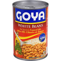 Goya White Beans In Sauce 15 OZ