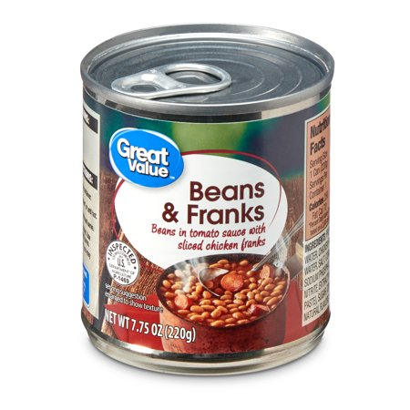 Great Value Beans & Franks 7.75 oz