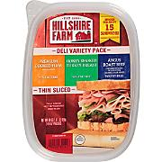 HILLSHIRE FARM PREMIUM COOKED HAM, HONEY TURKEY & ROAST BEEF 30 OZ 3-10 oz
