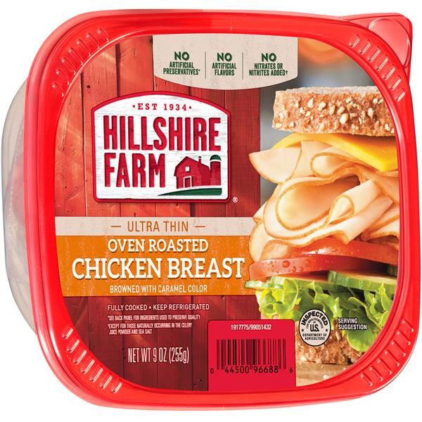 HILLSHIRE FARM ULTRA THIN CHICKEN BREAST 16 OZ