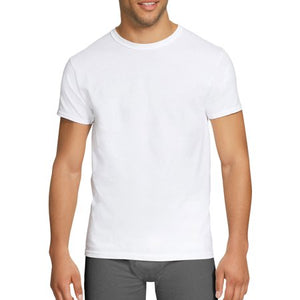 Hanes Men's Stretch Crew Tagless T-Shirt, 3-Pack