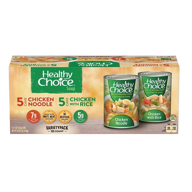 Healthy Choice Variety Soup Pack - JAHMAXX INC.