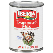Iberia Evaporated Milk 12 OZ