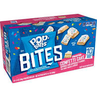 KELLOGG'S Pop-Tarts Bites Pastry Bites, Frosted Confetti Cake,