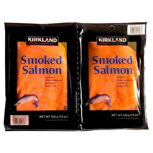 Kirkland Kosher Smoked Salmon 2- 12 OZ Pack