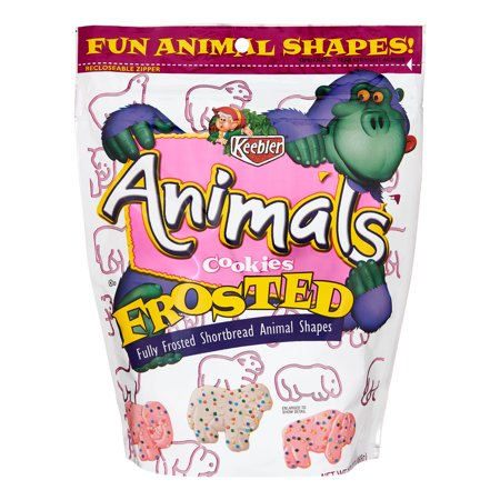 KEEBLER Frosted Animal Shortbread Shape Cookies