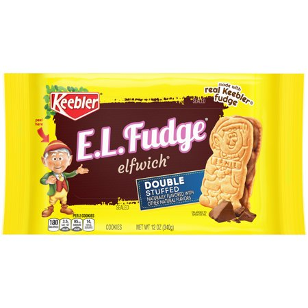 KEEBLER EL FUDGE DOUBLE STUFFED ORIGINAL COOKIE 9.5 OZ