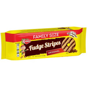 KEEBLER FUDGE STRIPES ORIGINAL CHOCOLATE