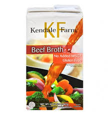 Kendale Farm Beef Broth, 32 oz.