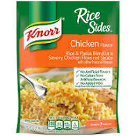 Knorr Chicken Flavored Rice Sides, 5.6-oz. Packs