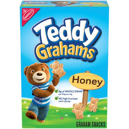 NABISCO TEDDY GRAHAMS HONEY  10 OZ