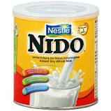 NESTLE NIDO INSTANT WHOLE DRY MILK 12 OZ