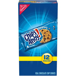 Nabisco Chips Ahoy! Original Chocolate Chip Cookie, 1.55 Oz., 12 Count