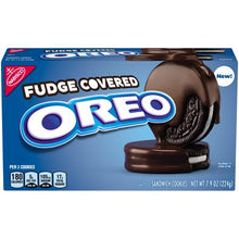Oreo Fudge Covered Sandwich Cookies